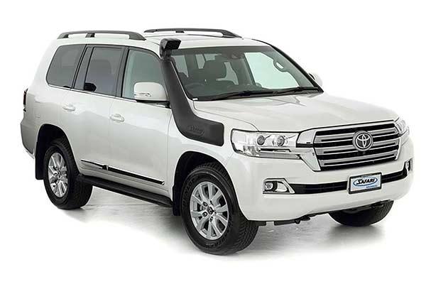 Toyota land cruiser snorkels